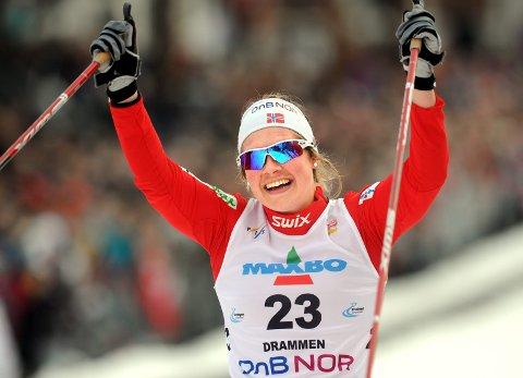 Karianne Bjellånes på sprinten i Drammen. (Foto: Terje Pedersen, ANB) *** Local Caption *** Karianne Bjellånes på sprinten i Drammen.