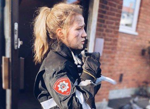 Valget falt på Marthine Mortvedt. Hun kommer fra Hemnes i Viken, og har hatt sin opplæring i OBRE, Oslo brann -og redning