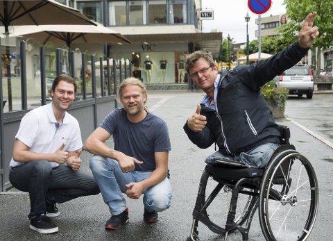 Magnus Herstad (Ringerike), Are Granheim (Jevnaker) og Atle Haglund (Hole) har tro på et godt valg for Fremskrittspartiet.