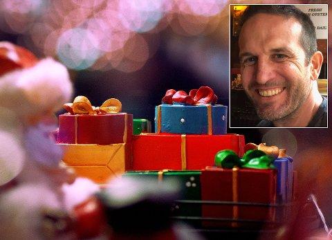 TID FOR KOS: Nei. Jeg skal ikke være lei meg i julen. Det vil jeg ikke, skriver Jim Gallagher.