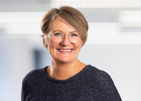 NY SJEF: Øydis Jahren overtar som leder for Kirkens Bymisjon etter Helen Bjørnøy.