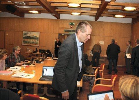 REFSET: Daværenede ordfører, Oddmar Blekkerud refset kontrollutvalget, pressen og Ruben Johansen for å ta opp saken rundt rådmannens lønnsøkning.