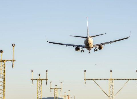 Behovet for en tredje rullebane på Gardermoen fører til byggeforbud i de nye flystøysonene. Foto: NTB scanpix