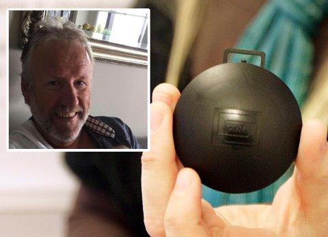 FØLTE HAN BLE LURT: Stein-Roger Johnsen fra Fetsund ble oppringt av en mann som prøvde å selge ham radonmåling. – Jeg stusset litt på hele opplegget og syntes det var merkelig, sier han. FOTO: PRIVAT / KRISTER SØRBØ