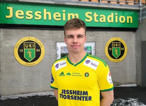 KISA-KLAR: Midtstopperen Jens Husebø skal spille for Ull/Kisa de to neste årene.