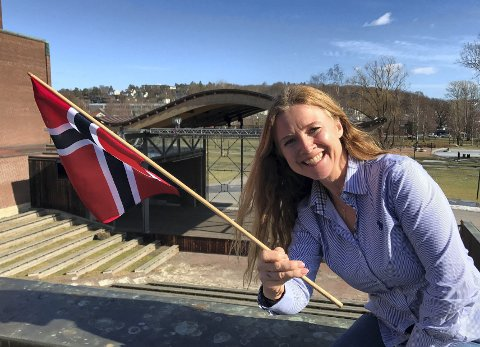 KONKURRANSE: Sekretær i komiteen, Tine Østby, håper så mange som mulig deltar i konkurransen på Instagram.