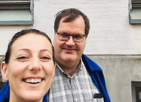 TOPPER LISTA: Marielle Thorstensen (34) er Helsepartiets toppkandidat til fylkestingtingvalget 2019. Kyrre Dahl (48) står som nummer to.