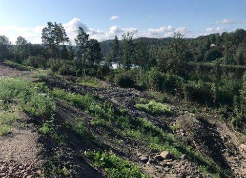 MASSEDEPONI: Rådmannen ber planpolitikerne onsdag vedta forslag til detaljregulering for deponiet til Arnadal Anlegg ved Askjemvannet i Andebu.