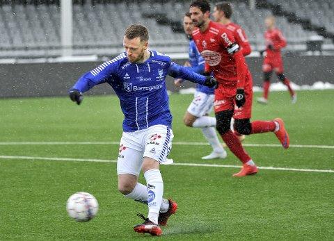 Unnagjort debuten: Ronnie Schwartz fikk sin debut mot Fredrikstad, men scoringer ble det ikke. Foto: Jarl Morten Andersen