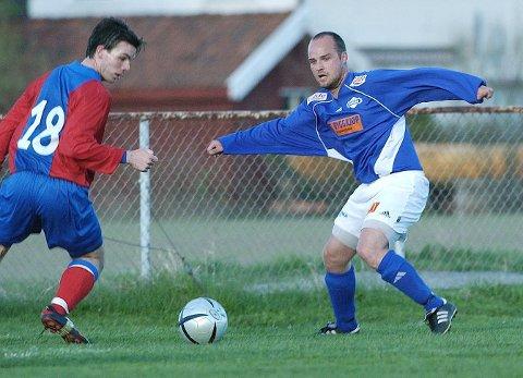 MODERKLUBB: Leif Roar Pettersen både startet og avsluttet fotballkarrieren i moderklubben Borgar. Han fikk også med seg et etterlengtet opprykk med blåtrøyene fra Gråvollen.