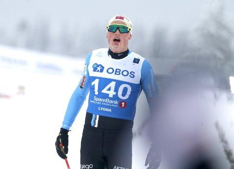 IMPONERER: Mikael Gunnulfsen går inn til en knallsterk 4. plass i et knallsterkt selskap. – Femteplass i fjor, fjerdeplass i år. Jeg må bare glede meg til neste år, smiler Gunnulfsen.FOTO: SCANPIX