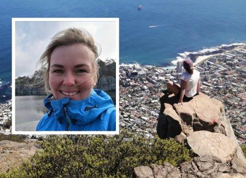 GOD OPPLEVELSE: Lene Kristine Daastøl legger ikke skjul på at hun trivdes i Sør-Afrika.