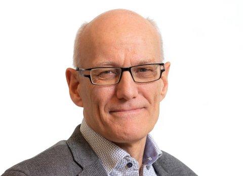 NY FYLKESRÅDMANN: 61 år gamle Arve Semb Christophersen er ansatt som ny fylkesrådmann i Vestfold og Telemark.