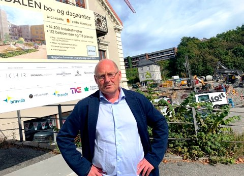 BER OM VURDERING: Politiker Jørn Inge Næss mener kontrollutvalget må inn å vurdere pasientsikkerheten.