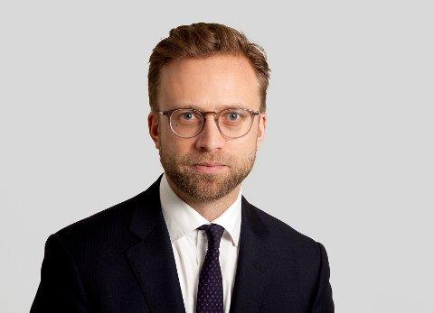 Digitaliseringsminister Nikolai Astrup.