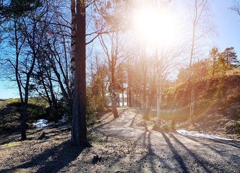 VÅRFØLELSE: Solen skinner og snøen smelter rundt oss, og prognosene lover en lang periode med oppholdsvær.