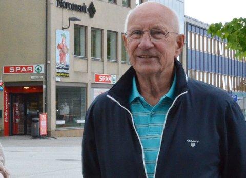 FØLGES OPP: Leder i Steinkjer Høyre, Snorre Gundersen, sier at lokalpartiet selvsagt skal drøfte saken om at deres varaordfører Øystein Bjørnes og kommunestyrerepresentant Morten Resve har inngått samarbeidsavtale med Senterpartiet og Venstre.