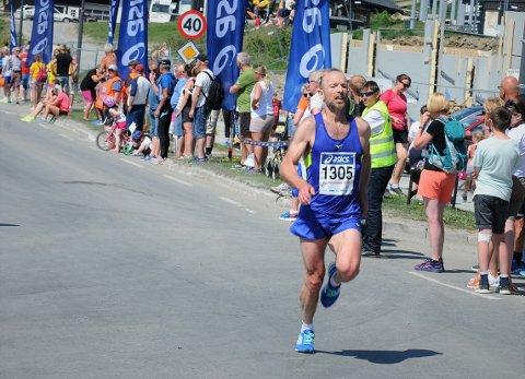 """Vant: Bjørn Eide var også i fjor """"programmert"""" til å løpe på 1,18. Lørdag blir det både start og innkomst på Beitostølen, på grunn av dårlig vær."""