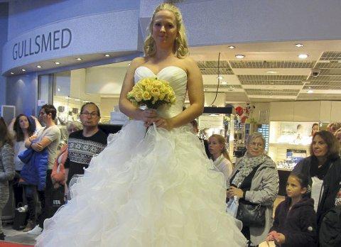 Gifteklar: Lørdag blir det brude- og trendshow for store og små. Arkivfoto
