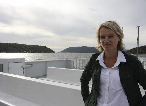 Ordfører: Nina Sandberg vil gå for bro over Oslofjorden.