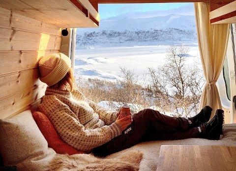 Opplevelser: Slike bilder og opplevelser som dette er tanken bak konseptet, som nå realiseres i Bodø: - Det gir uante nye muligheter til å oppleve større deler av naturen som Norge har å by på, sier Chris Birk.
