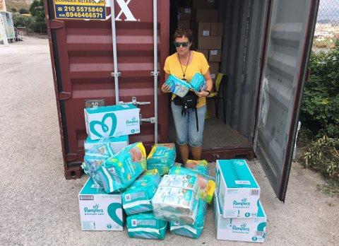 Gunn Skinlo hjelper flyktningene i Hellas. Nå har engasjementet gått i arv.