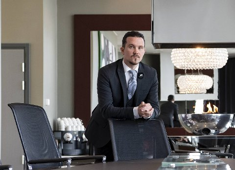 Hotelldirektør Espen Hammersvik.