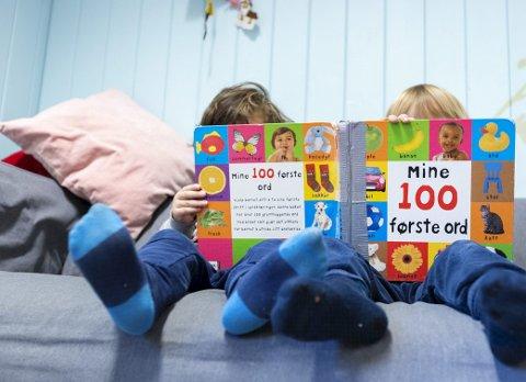 – Barnehagen, som første del av utdanningsløpet, bør være gratis på lik linje med skolen. Foto: NTB/Scanpix
