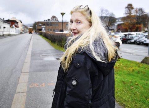 MARKERING: Søndag arrangerer Gro Nyhus og Facebook-gruppen mot bommer i Drammen en siste markering mot Buskerudbypakke 2.