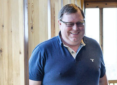 STEMTE NEI: Fylkesleder Erik Hørlück Berg var i  utgangspunktet imot regjeringsforhandlinger. Han slår tilbake mot kritikken fra Miljøpartiet.