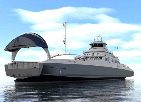 Fjord1 er i finalen i nok eit innovativt ferjeprosjekt, denne gongen med hydrogen som energikjelde.