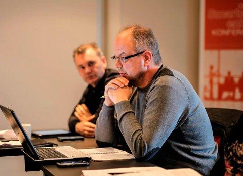 Hilmar Høl fortel at fylkesutvalet samla støtta ny utdjuping av skipsleia i Florø.