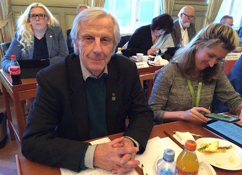 Vil ha nye ledere: Henning Aall i Miljøpartiet De Grønne, her sammen med partikollega Ida Julsen, mener flere enn rådmannen må skiftes ut. (Arkivfoto: Øivind Lågbu)