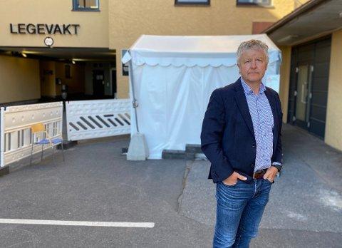 INFORMERER: Ordfører Are Karlsen har innkalt til et ekstraordinært formannskapsmøte for å informere om de strenge retningslinjene.