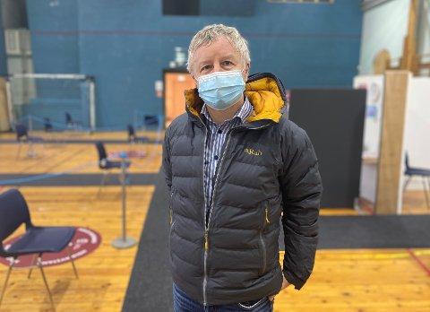 KRISELEDELSE: Ordfører Are Karlsen har satt kriseledelse etter at det er påvist smitte i hjemmetjenesten i Horten.