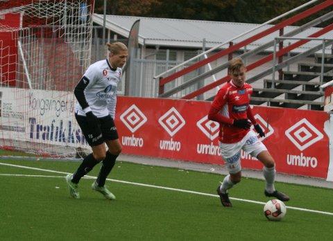 Arkitekt: Ludvig Langrekken var arkitekten bak kampens første  scoring.