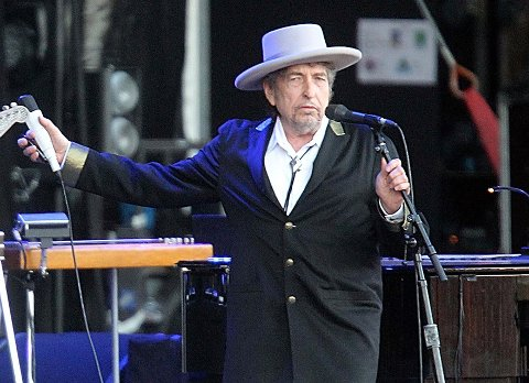SES PÅ BJERKEBÆK: Bob Dylan. Foto: Scanpix
