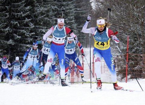 I tet: Juni Arnekleiv har hatt en flott sesong. I helgen vant hun norgescupen sammenlagt. Foto: Anders Lindstad