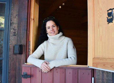 Stenger kafe: Lene Arnestad fra Mesnali gir opp å drive kaffebaren Fjellglede.