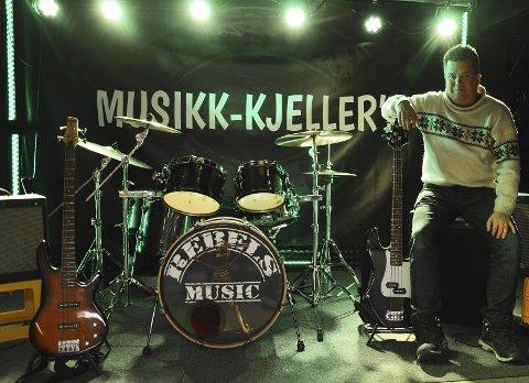 GRØNT LYS: Morten Wien og Rebels Music er glade for skulderklapp og grønt lys for økonomisk støtte fra kulturkontoret.