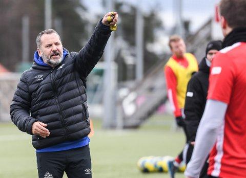 TILBAKE: Tor Thodesen er glad for at Kvik Haldens spillere igjen får trene fotball som normalt.
