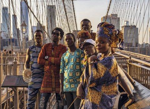 VOODOO-INSPIRERT: Benin International Musical blander voodoo-rytmer med moderne elektrisk pop, rock og triphop. De er et av mange spennende innslag under årets versjon av festivalen Stoppested Verden som avvikles på Martodden lørdag og søndag.
