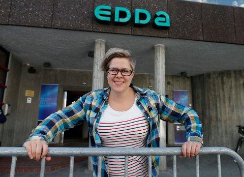 NYTT KINOÅR: - Jeg tror 2018 blir et bedre år for Edda enn i fjor, da hadde vi en svak nedgang i besøket, sier konstituert kinosjef Jorunn Kristensen.