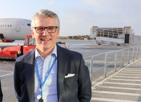 KOMMERSIELL LEDER: Pål Visnes i Lufthavndrift AS.