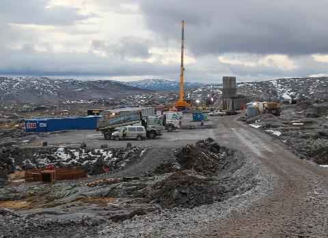 Lagmannsretten har avvist anken om en midlertidig stans i byggingen av Øyfjellet vindkraftverk.