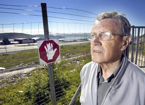 POLITISK ENGASJERT: Arnulf Olsen kjempet for flere politiske saker, både lokalt og ellers i Finnmark.