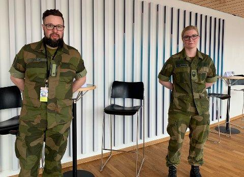 Hans Petter Vabog og Karoline Melling i Hærens musikkorps i Harstad er glad for at undersøkelsen er kommet på bordet.