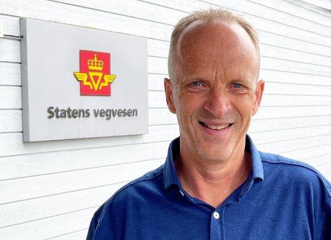 PROSJEKTLEIAR: Sverre Ottesen, prosjektleiar E39 Stord-Os (Hordfast).