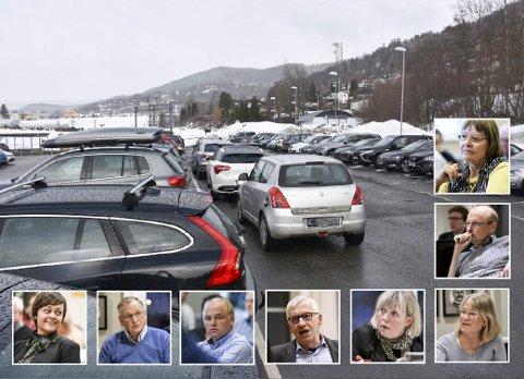 Evigvarende problem: Parkeringssituasjonen på Lier stasjon blir ikke bedre, og pendlerne fortviler. arkivfoto