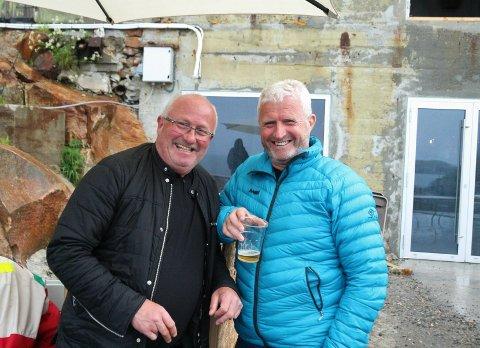 Magne Christensen og Odd Stenland håper på mange flere Codstock-festivaler sammen.